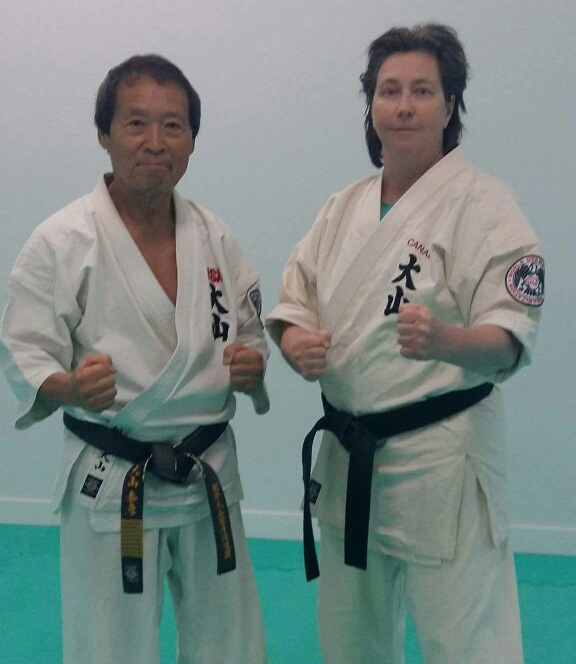 Oyama et Shihan